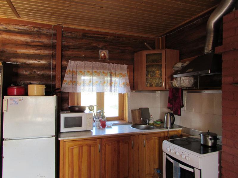 Кухня в гостинице для паломников
