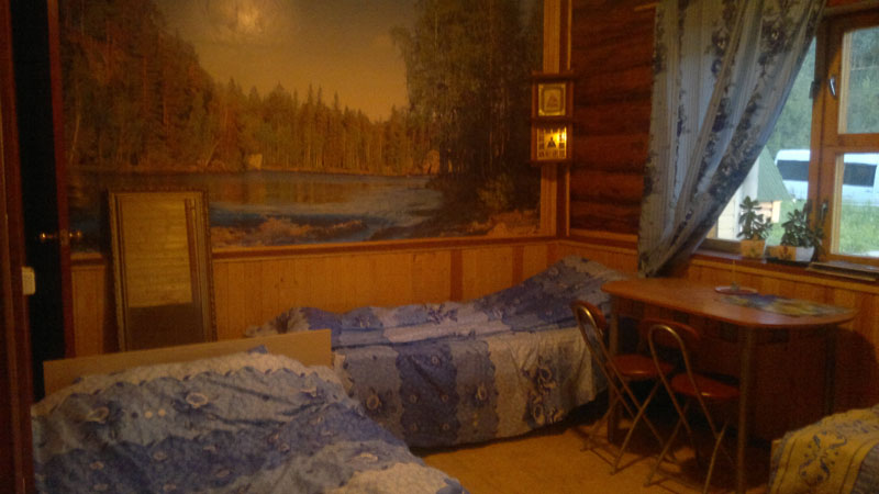 Кровати в гостинице