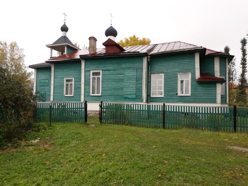 Кикерино. Храм Николая Чудотворца.